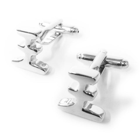 Chinese Surname Cufflinks (Wang)