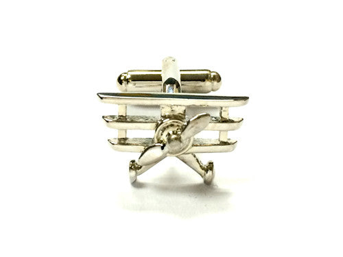 Vintage Airplane Cufflinks