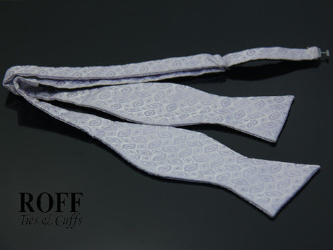 Self-Tied Motif Bow Tie