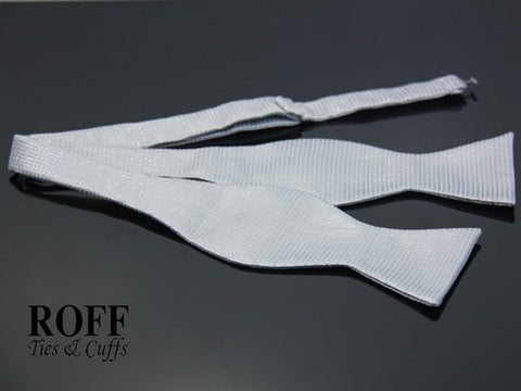 Self-Tied Textured Bow Tie
