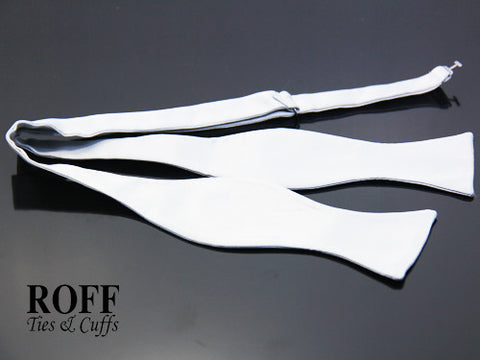 Self-Tied Plain Bow Tie