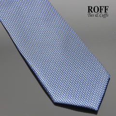 Navy Blue Fine Dot Textured Tie