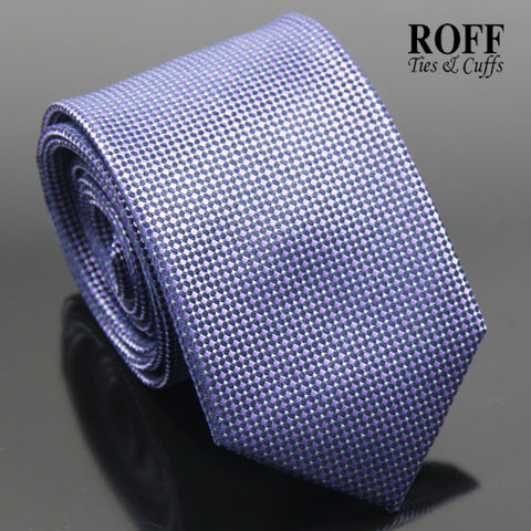 Purple Fine Dot Textured Tie
