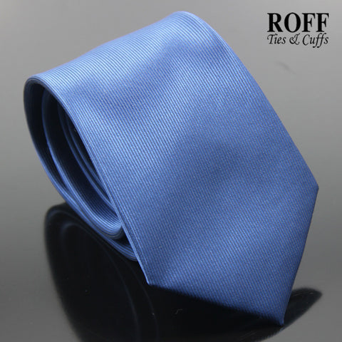 Navy Blue Vertical Textured Plain Tie
