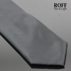 Black Vertical Textured Plain Tie