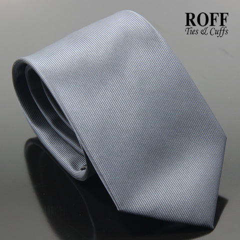Charcoal Black Vertical Textured Plain Tie