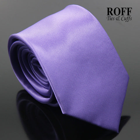 Purple Vertical Textured Plain Tie