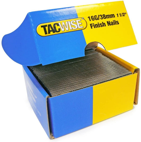 Tacwise 16 Gauge Straight Finish Nails Brads galvanised