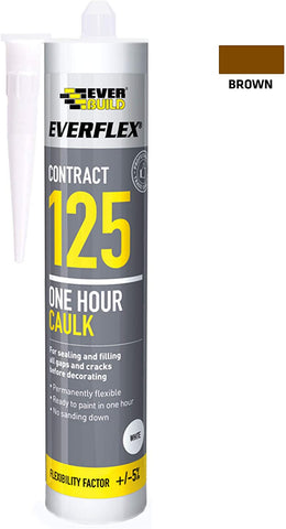 EverBuild Everflex 125 One Hour Decorators Caulk 300ml