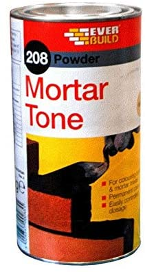 Everbuild 208 - Black 1kg Mortar Tone Cement Pigment Dye Colour