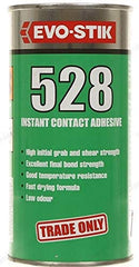 EVO STIK 528 500ml Instant High Grab Contact Adhesive Glue Fast Drying