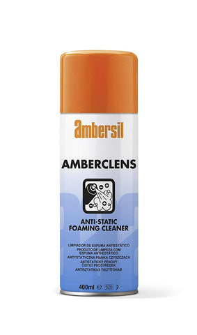 Ambersil 400ml Amberclens Aerosol Anti-Static Foaming Cleaner 31592