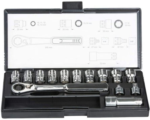 MAKITA B-65595 14 PC PASS THRU SOCKET SET Sockets