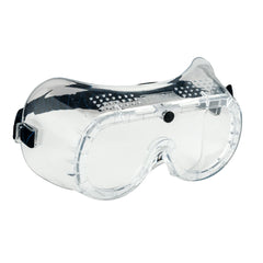 Portwest PW20 - Clear Sz  Direct Vent Safety Goggle Glasses Eye Protection