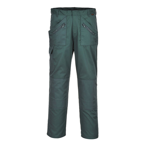 Portwest S887- Spruce Sz 48 Tall Action Work Trousers Safety