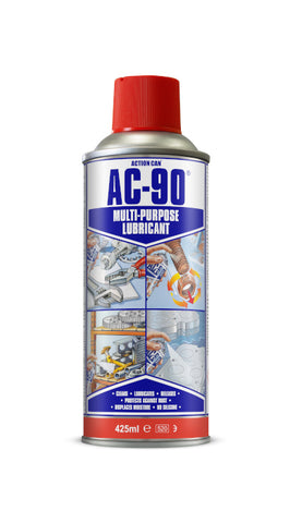 Action Can AC-90 Multi Purpose Lubricant Maintenance Rust Protection Spray 425ml