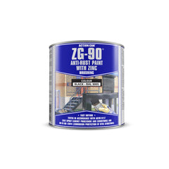 Action Can ZG-90 - Silver 900ml Brushable Cold Zinc Galvanising Paint