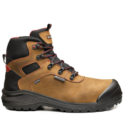 BASE B0895 Safety Boot Shoe Sz14 Brown Be-Dry Mid/Be Rock