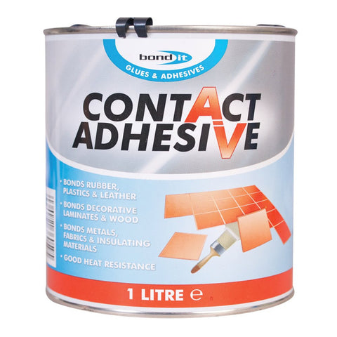 Bond it Contact Adhesive Premium Solvent Based Neoprene Glue Bond Sticks 500ml