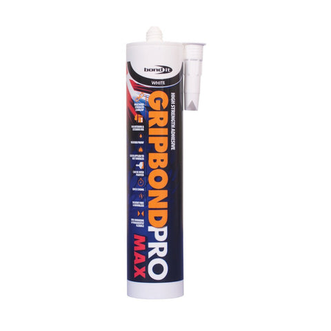 Bond It BDPPROWH - Gripbond Pro Max Contact Grab Adhesive
