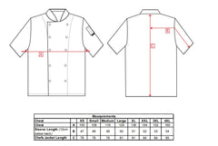 Portwest C733 Cumbria Lightweight Chefs Jacket
