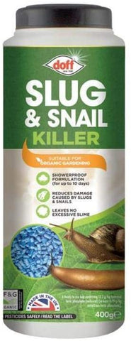 DOFF Slug & Snail Killer 400g Suitable for Organic Use