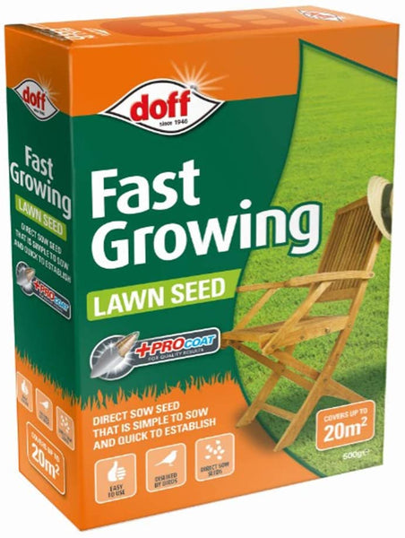 DOFF Fast Acting Lawn Seed 500g  -  F-LC-500-DOF