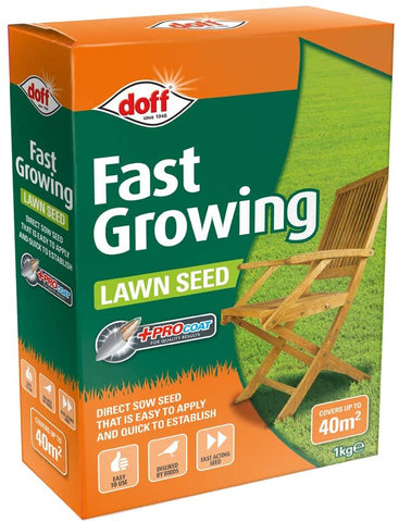 DOFF Fast Acting Lawn Seed 1kg  -  F-LC-A00-DOF
