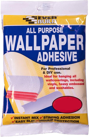EverBuild All purpose wallpaper paste Each pack 10 Roll Coverage