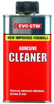 Evo-stik 250ml Adhesive Cleaner Remover Wet dry or set Glues