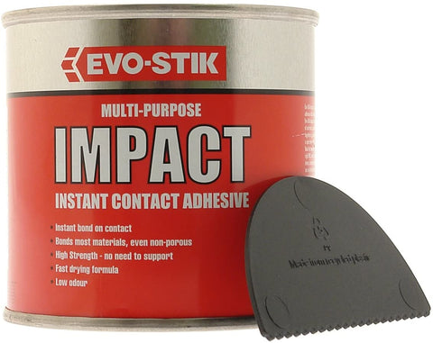 Evo-stik Impact Adhesive 500ml Multi Purpose Instant Contact Glue evostik