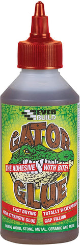 Everbuild 500ml Gator Wood Glue Polyurethane Adhesive 30 Mins Drying Time