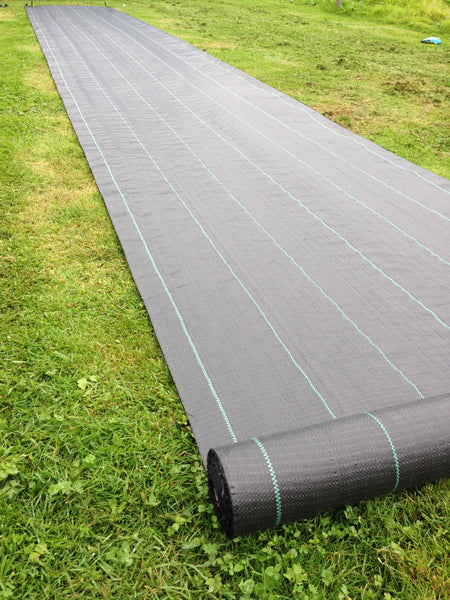 Yuzet 100gsm Weed Control Fabric Ground Cover Membrane Garden Mat Landscape
