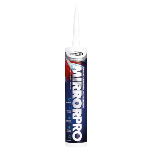 Bond It BDMPROWH -Mirror Pro High Strength Ceramic & Glass Adhesive