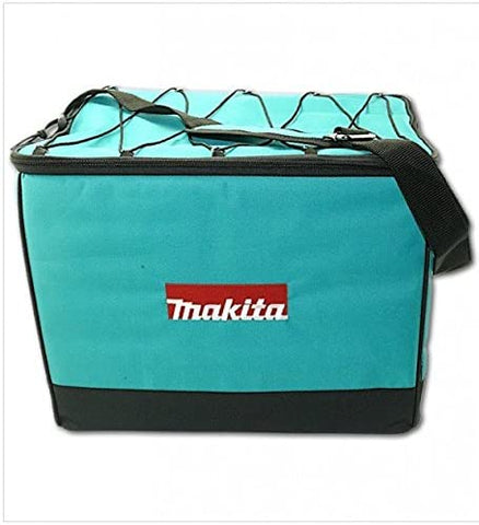 "Makita 831327-5 16"" Heavy Duty Tool Bag Canvas Nylon Hard Base Shoulder Strap"
