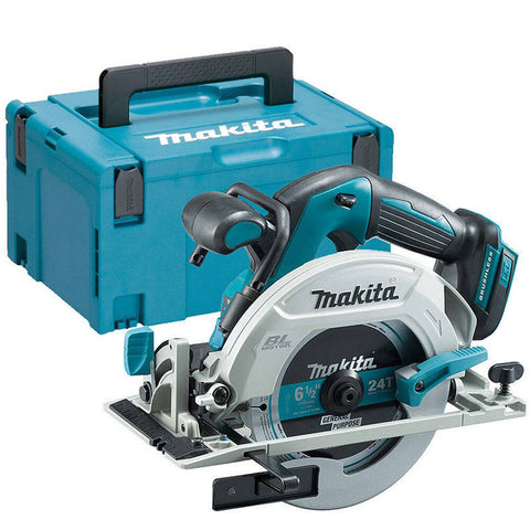 MAKITA DHS680ZJ 18V LXT Circular Brushless 165mm Saw Body Only in Makpac Case