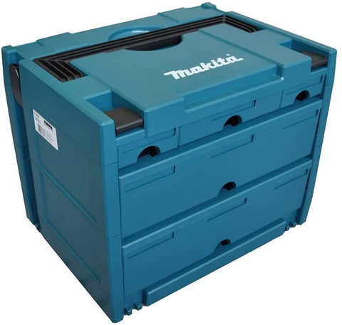 Makita P-84349 MAKPAC CASE 5 DRAWER Connector type 4 Stacking
