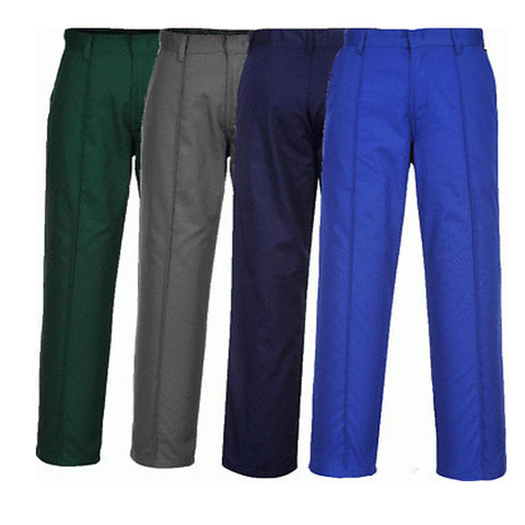Portwest 2885 Green Black Grey Navy Blue Preston Mens Work Trousers Side Pockets