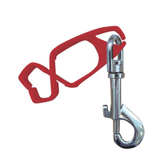 Portwest A001 - Red Safety Glove Clip Holder Hanger Guard Labor Work Clamp