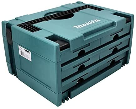 Makita P-84333 MAKPAC CASE 6 DRAWER Connector type 3 Stacking