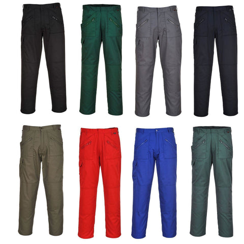 Portwest S887- All Colours Action Work Trousers Safety
