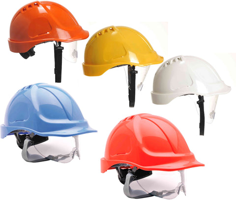 Portwest PW55 - Endurance Visor Helmet Hard Hat
