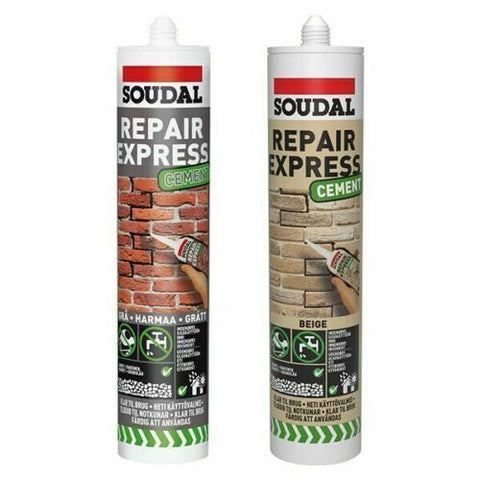 Soudal Repair Express Cement Gap and Crack Filler Mortar