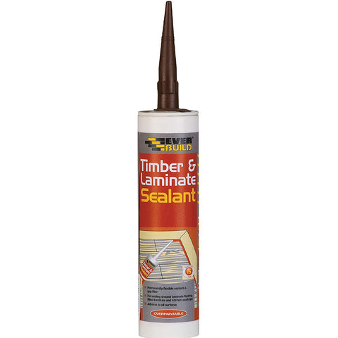 Everbuild Beech Timber and Laminate sealant