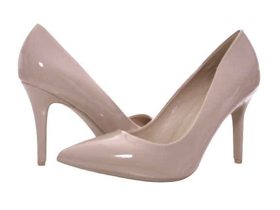Damen High Heel Plateau Pumps Abendschuhe Stilettos Nude # 70