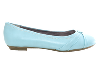 Damen Slipper Halbschuhe Ballerina Loafer Mokassins Slip On Flats Freizeit Blue # 2387