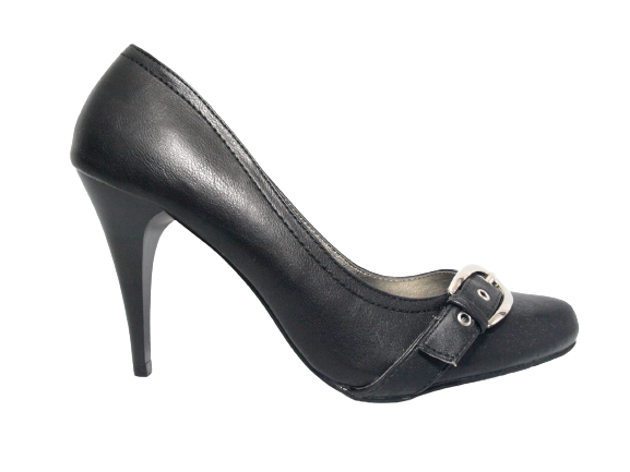 Damen High Heel Plateau  Pumps Abendschuhe Stilettos Black # 541-16