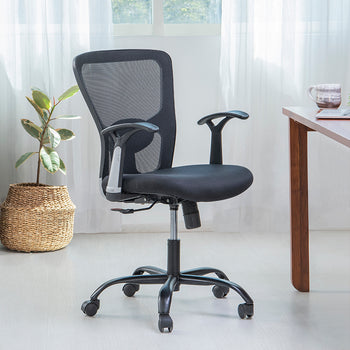 Alice 3-Axis Adjustable Ergonomic Mid Back Office Chair