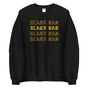 Black Dad Sweatshirt