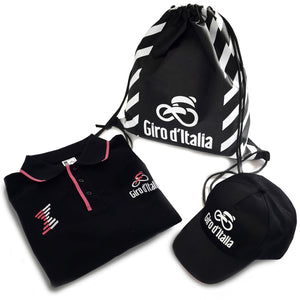 Kit Polo Giro d'Italia - Nero